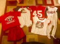 Size 12 months baby Toddler's clothes lot for boys sports Saginaw, 48609