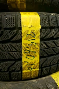 215 / 60 / 16 2pc winter tire with installation  Toronto, M3J 2B9