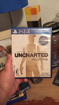 Uncharted The Nathan Drake Collection PS4 game case Porterville, 93257