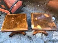 2 vintage wood end tables  Alexandria, 22315
