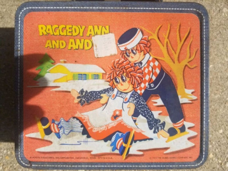Vintage Ragedy Ann and Andy Lunch Box 01d0557a-4e33-468d-99a5-9781129ad11b