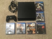 PS4 500gb with controller and games Fairfax, 22030