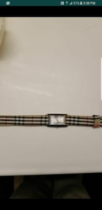 Burberry watch need a battery. 45$ Victorville, 92392