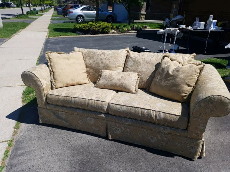 Love seat and sofa  5