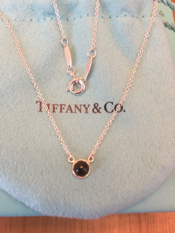 88625d98fd1f Used BRAND NEW TIFFANY ELSA PERETTI COLOUR BY THE YARD NECKLACE for sale in  Toronto - letgo