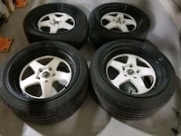 18 inch rims with tires 5x120  Toronto, M9V