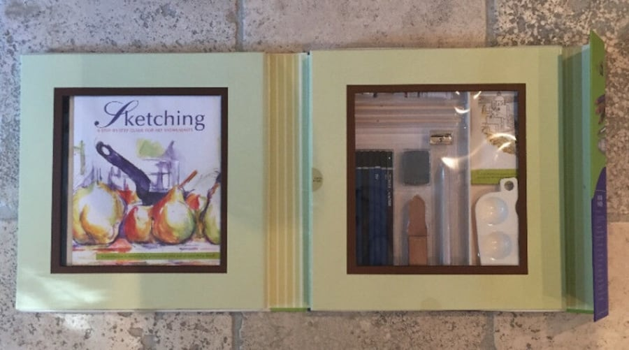 Sketching: A Complete Kit for Art Enthusiasts, factory sealed 6a678623-4fc9-4368-b456-8b5e2807d4b4