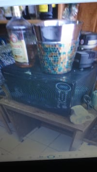 Microwave and stand for it