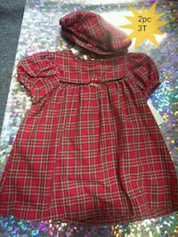Baby girl dress with matching hat Toledo, 43611
