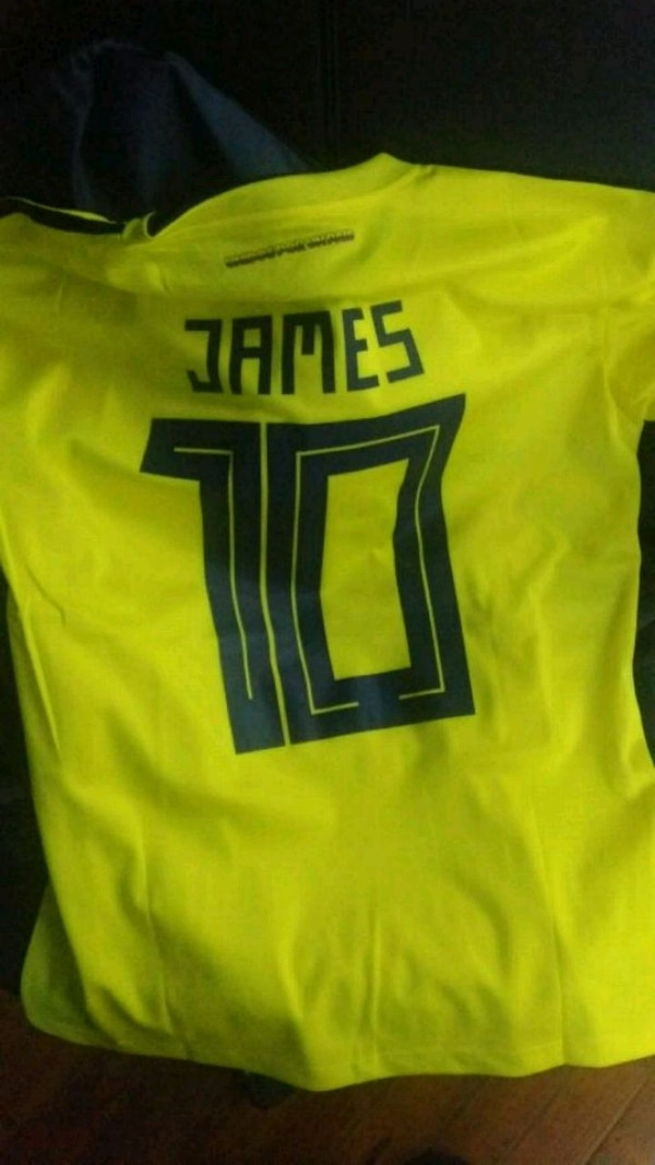detailed look 638d1 aad7a James Rodríguez Colombia Shirt