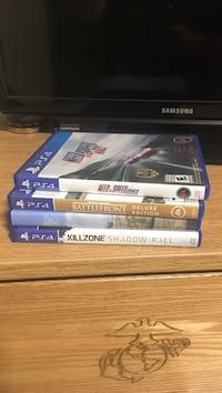 Sony ps4 game case lot