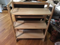 Foldable solid wood book shelf Silver Spring, 20901