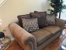 Oversized Loveseat Couch