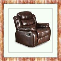 Burgundy recliner chair free delivery  Gaithersburg