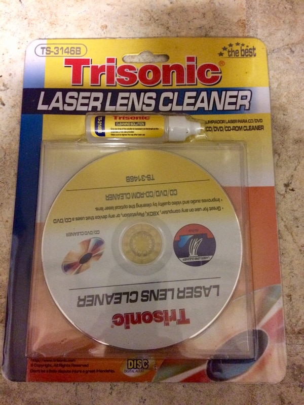 dvd ps2 ps3 xbox 360 blu ray lens cleaner