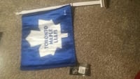 Toronto maple leafs car fag new with tags