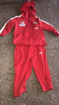 red and white Adidas track suit Kissimmee, 34746