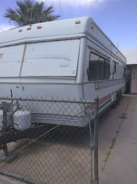 1981 Holiday Rambler travel trailer Casa Grande, 85122