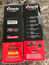 Pair of Vittoria Road Cycling Tires 44 km