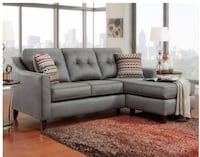 Smokey gray couch Tampa, 33626