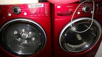 LG Large capacity Steam Washer/Dryer set