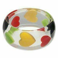 Floating heart bangle Ontario, L6A 3P3