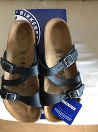 Brand new Birkenstock leather 38/7-7.5 Burnaby, V5H 4W6