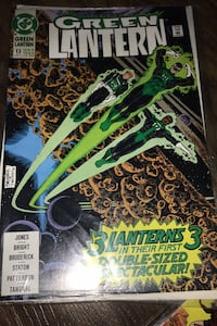 Comic book 1991 #13 Green Lantern