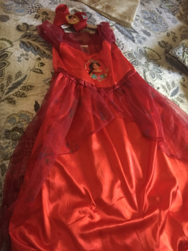 c0b7623a9c0f Used Princess Alayna of Avalo or red dress with matching Alina bowl ...