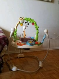 baby's white and green jumperoo Kitchener, N2C