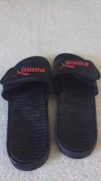 puma  slides size 12 barely used and clean Lewis Center, 43035