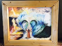 Mosas and the red sea original art