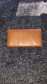 Brand new Fossil Leather Brown Wallet for women  Dollard-des-Ormeaux, H9B 1E5