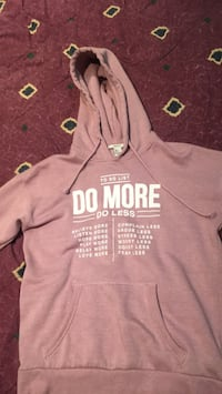 pink gray hoodie from forever 21  Toronto, M9V