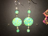 Hand made stone earrings Los Angeles, 91602