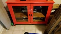 Red painted buffet  Capitol Heights, 20743