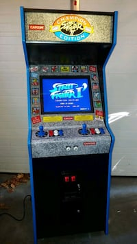 Street Fighter 2 champion edition arcade multigame plays 1300 games Glocester, 02814