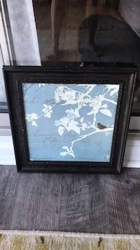 brown wooden framed painting of white petaled flowers Memphis, 38119