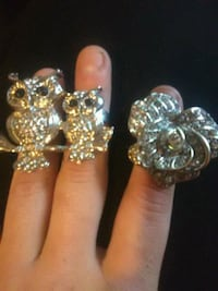 two silver-colored rings Chico, 95973