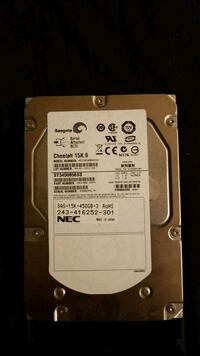 Seagate hard drive cheetah 15k.6 450 gb 549 km