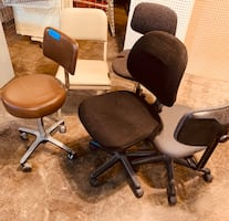 Office chairs adjustable heights