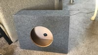 Gray and brown subwoofer enclosure Mechanicsville, 23111