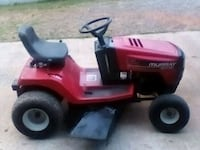 red and black ride on mower Harmony, 28634