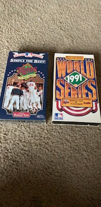 2  '91 world series vhs tapes Hopkins, 55343
