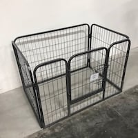 New in box 37 length x 26 wide x 25 inches tall 4 panels playpen dog cage crate kennel for pet  Los Angeles, 90032