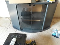 black and gray TV stand Long Beach