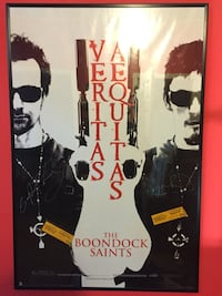 Autographed boondock saints poster. Norman reedus walking dead and Sean Patrick flanery Brentwood, 94513