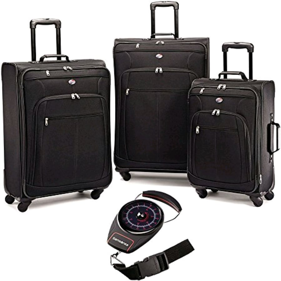 American Tourister 3 Pc Spinner Luggage Set