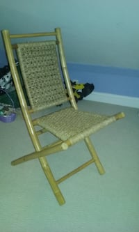 brown and black wooden folding chair Morehead City