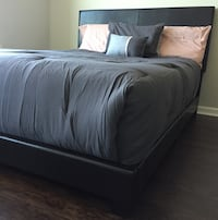 New Brown Queen Bed  Silver Spring